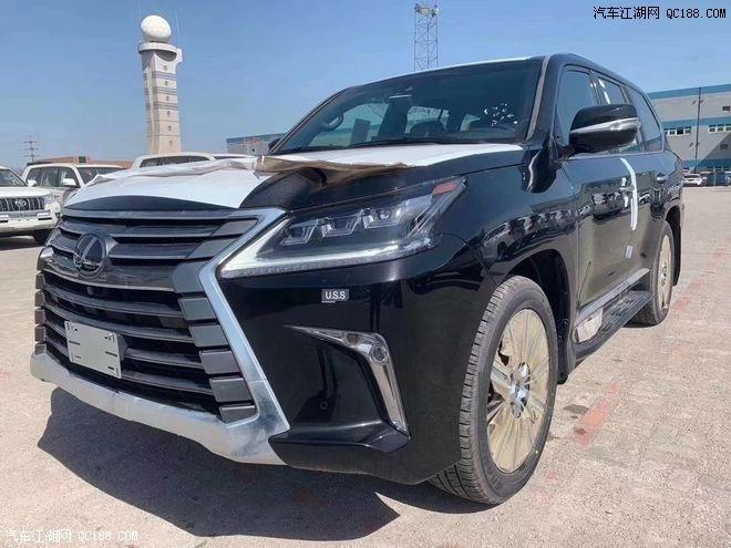 2021款雷克萨斯LX570报价 越野装备升级