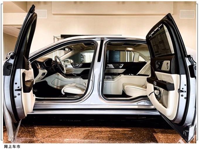 限量发售80台 林肯大陆特别版车型实拍
