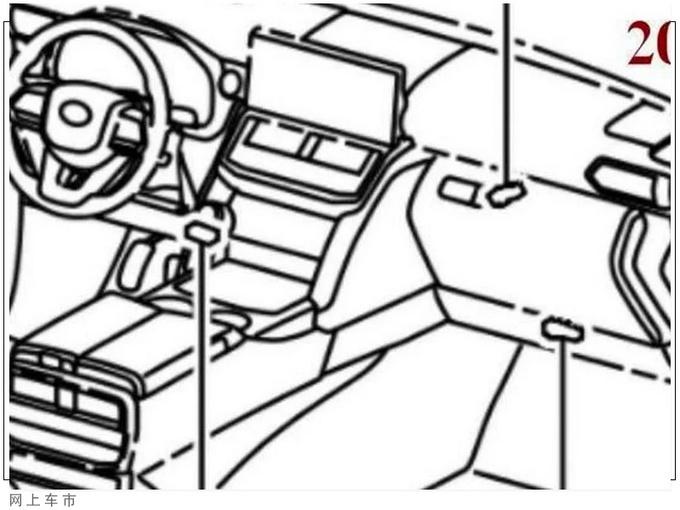 丰田全新兰德酷路泽车型专利图片曝光