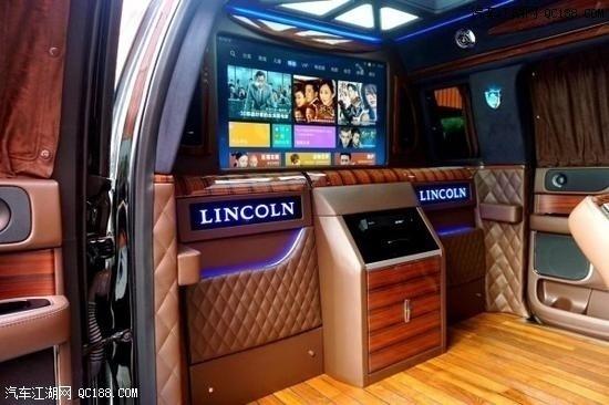 林肯领袖一号商务车加长版国六实车体验