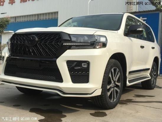 20款丰田酷路泽4000中东版白色现车体验