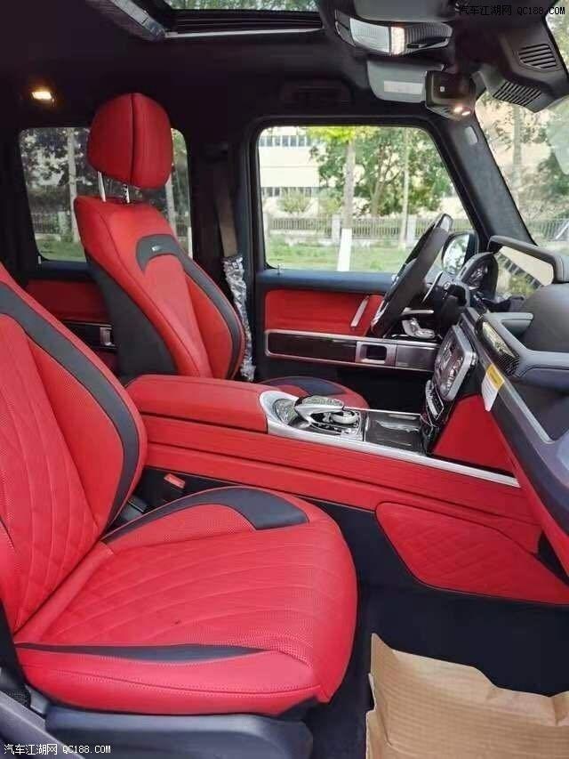2020款奔驰G63美版4.0L V8动力实车报价