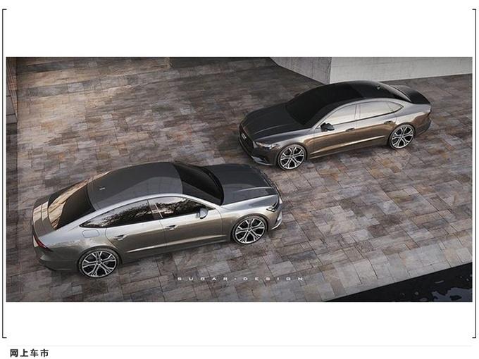�W迪全新A7 L全新渲染�D 上海�展亮相