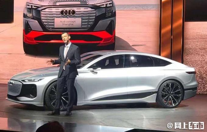 �W迪概念�A6 e-tron concept全球首秀