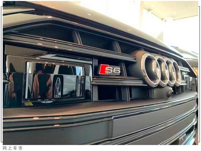 新款奥迪S6车型海外到店实拍图海外曝光