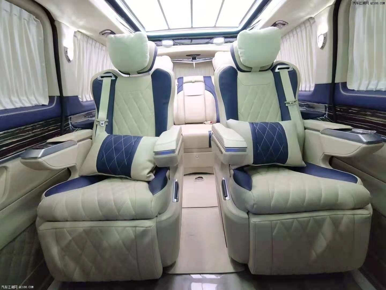 高顶福建奔驰V260迈巴赫商务车到店体验