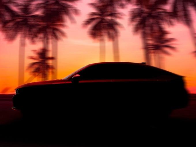 本田全新一代思域Hatchback车型预告图