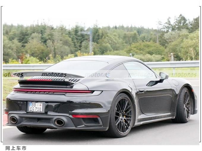 保�r捷911 Turbo Hybrid�型�照曝光