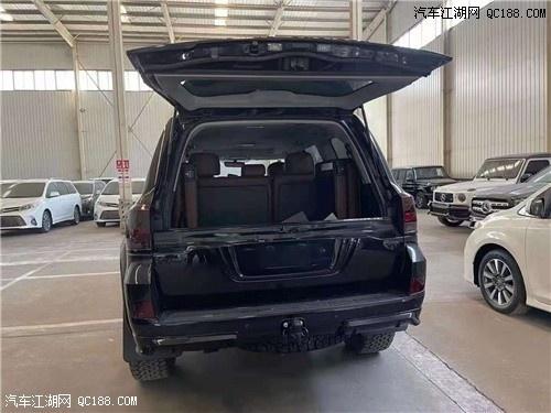 新丰田酷路泽4500黑金刚(柴油版)现车