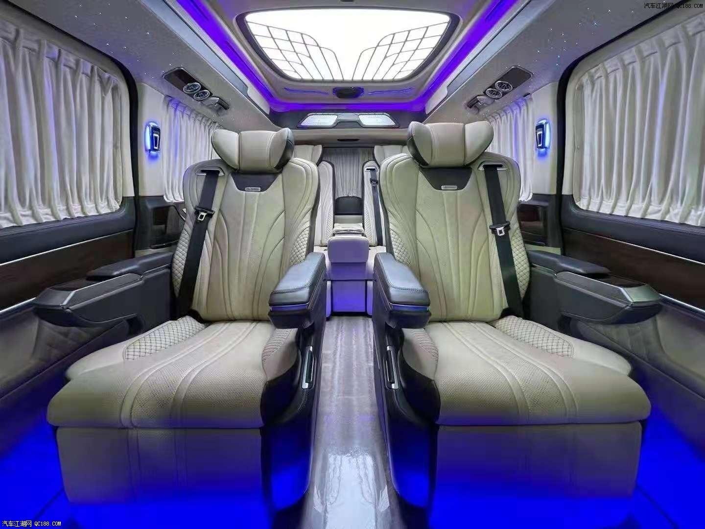 奔驰V260高顶七座高顶商务车到店优惠价