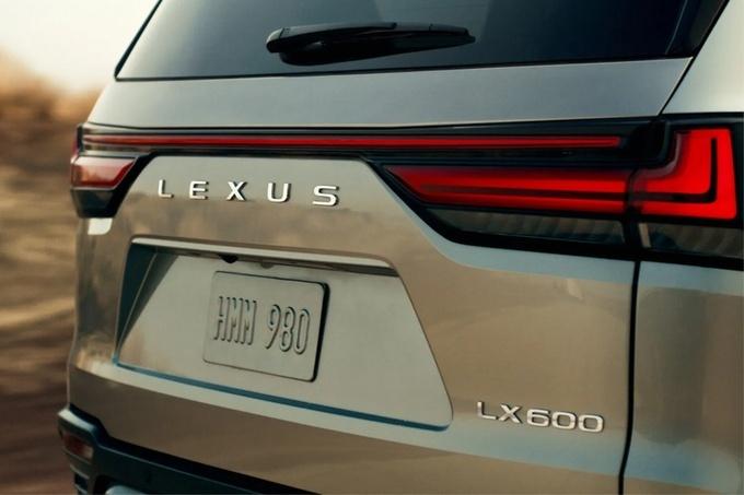 全新款雷克萨斯LX预告图 本月海外发布