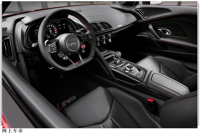 奥迪全新款R8车型官图曝光 动力或升级