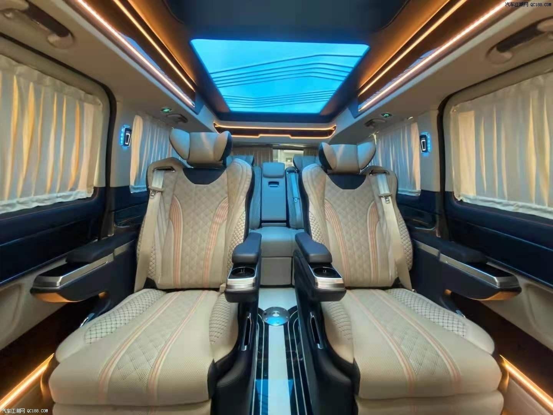 2021款奔驰V260国六定制顶级商务车评测
