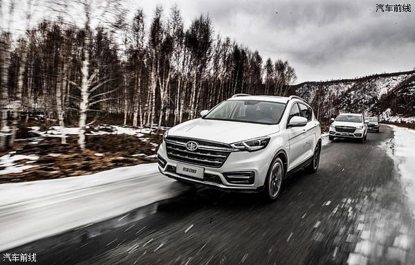 天津一汽全新SUV命名骏派D80 或三季度上市