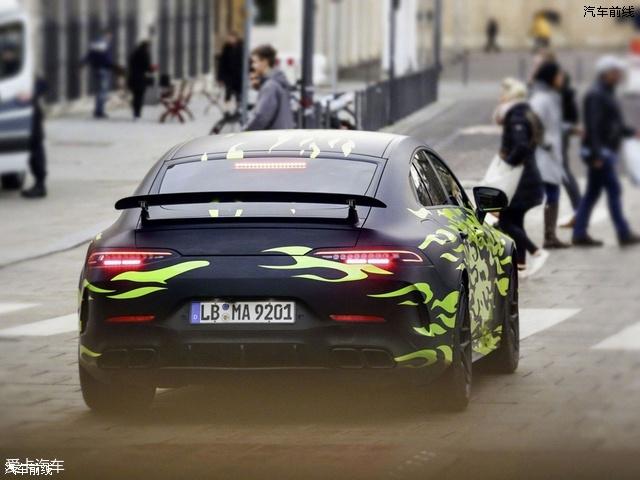 梅赛德斯AMG GT四门版谍照 日内瓦发布