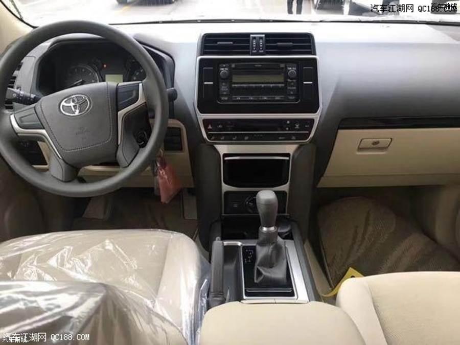 18款中东版霸道2700 现车最新行情报价优惠天津港