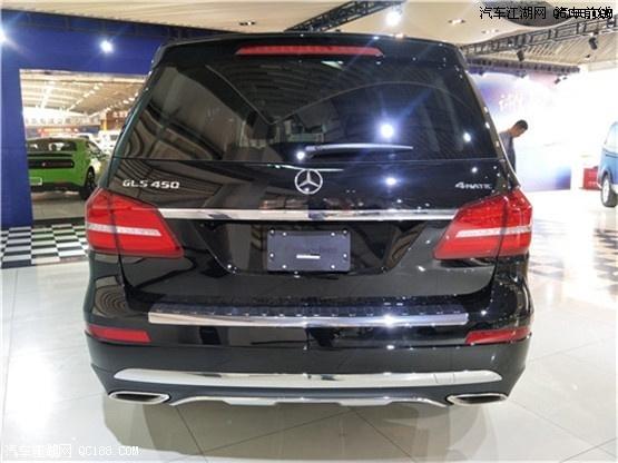2018款奔驰GLS450豪华七座SUV 现车落地优惠