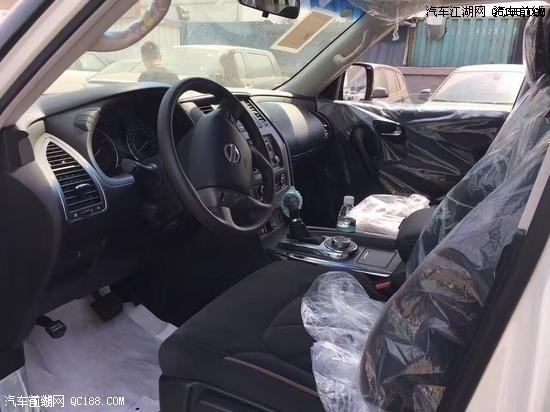2018款日产尼桑途乐Y62 中东版为越野而生