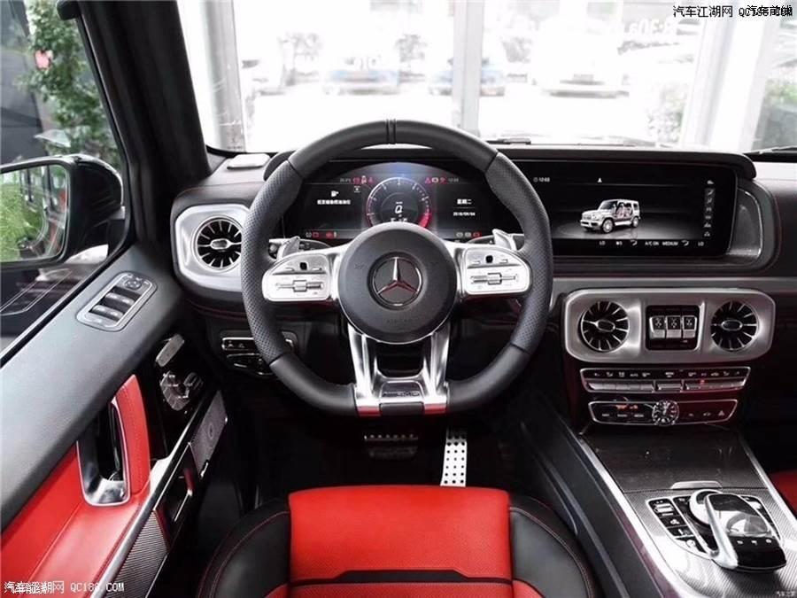 全新奔驰19款奔驰G63AMG 现车手续齐全 全国可分期