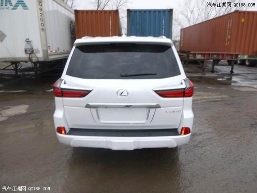 全新一代雷克萨斯LX570爆售 十一全新裸车价