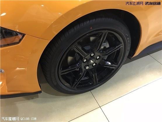 天津港18款福特野马配置最新解析