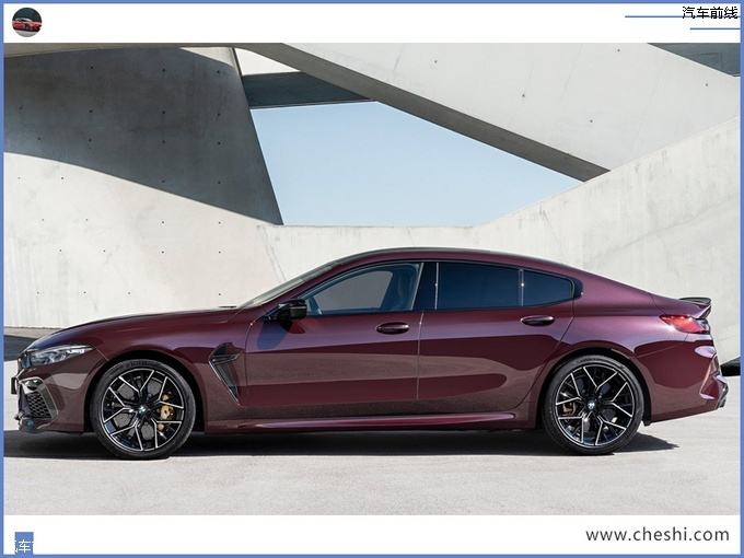 宝马8系四门轿跑性能版官图搭V8引擎年内开售-图2