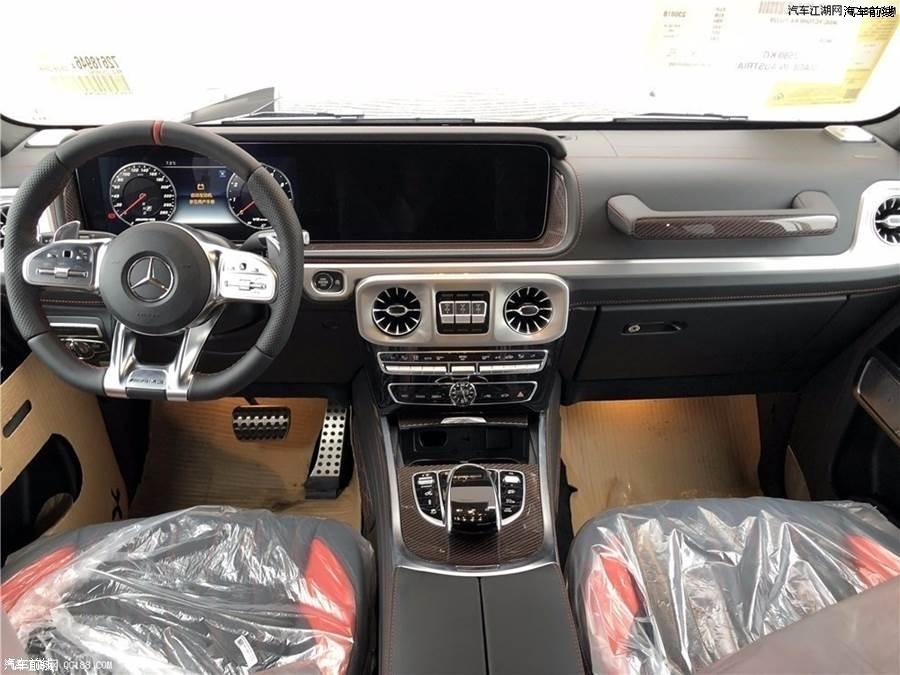 19款梅赛德斯奔驰G550美规版现车实拍配置解读