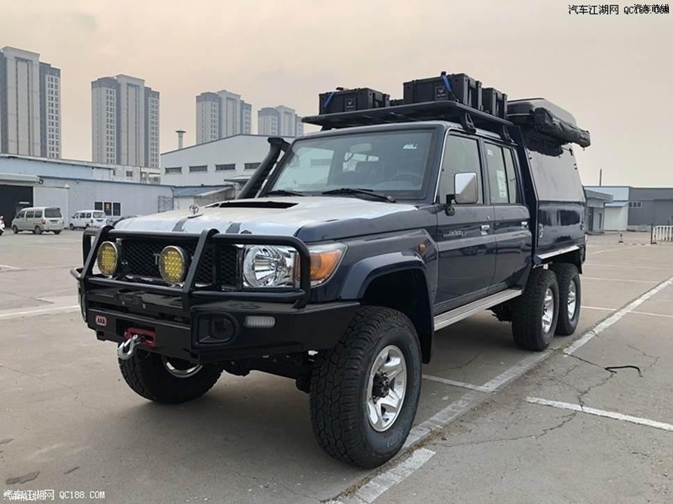 2019款丰田LC79 6X6 V8柴油现车实拍解读