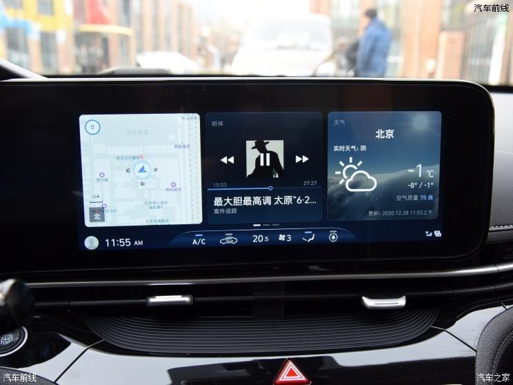北京现代 名图 2021款 270TGDi 基本型