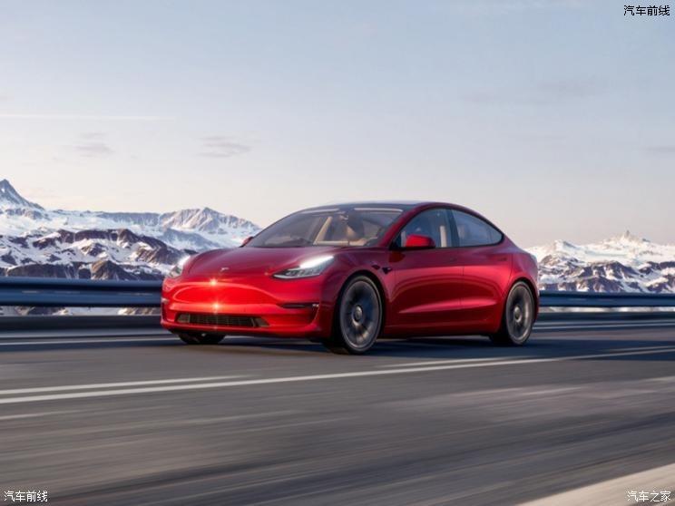 特斯拉(进口) Model 3(进口) 2021款 美国版