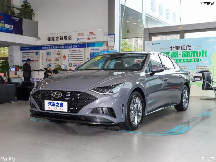 北京现代 索纳塔 2020款 改款 270TGDi GL DCT领先版